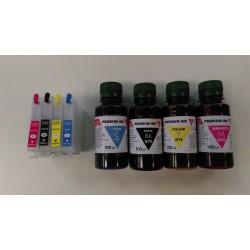 PLNITELNÉ CARTRIDGE Epson T2711 - T2714+4x100 ml inkoustu