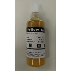 Inkoust sublimační (helový) Inksys pro tiskárny Ricoh, barva yellow, 100 ml