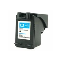 Náplň HP 650XL - černá alternativní CZ101AE - 920 stran