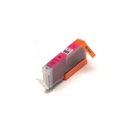 Kompatibilní náplň Canon CLI-551M XL - červená 100% nová s čipem