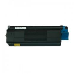 Toner kompatibilní OKI C5100 (42127405) žlutý 5000 kopií