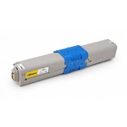 Toner kompatibilní OKI C510 (44469722) žlutý 5000 kopií