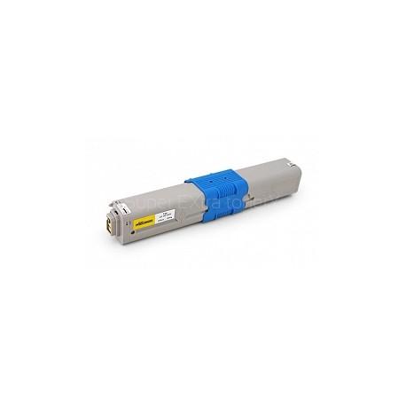 Toner kompatibilní OKI C5600, C5700 (43381905) žlutý 2000 kopií